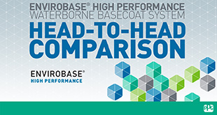 The Envirobase High Performance Waterborne Basecoat System Head-to-Head Comparison Video