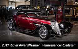 "2017 Ridler Award Winner ""Renaissance Roadster"""