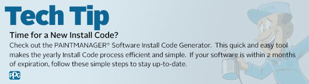 Install code ppg