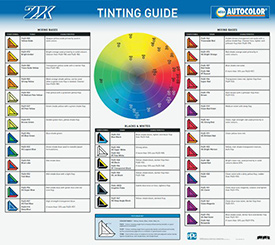 Nexa Autocolor 2K Tinting Guide